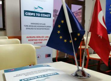 """Si conclude con successo la formazione prevista dal progetto """"Eu-Turkey Coops to Coast"""""""